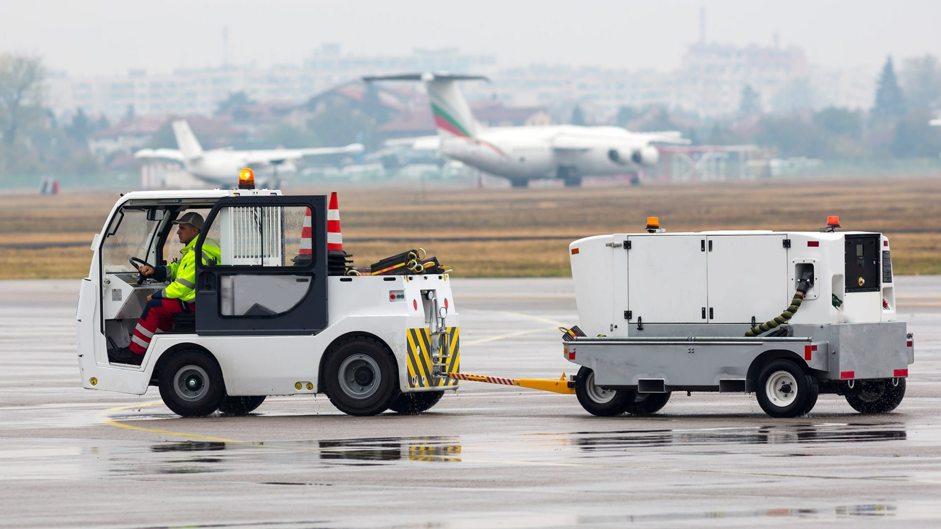 Baggage Trailer Wheel